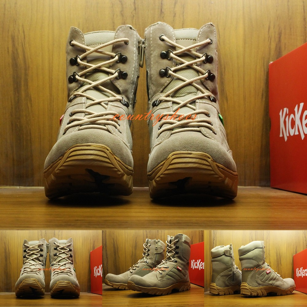 Countryshoes Sepatu Delta Pria 8 Inch Boots Safety Dessert Boot Moofeat Lunnar Tan Ujung Besi Tactical Military Shopee Indonesia