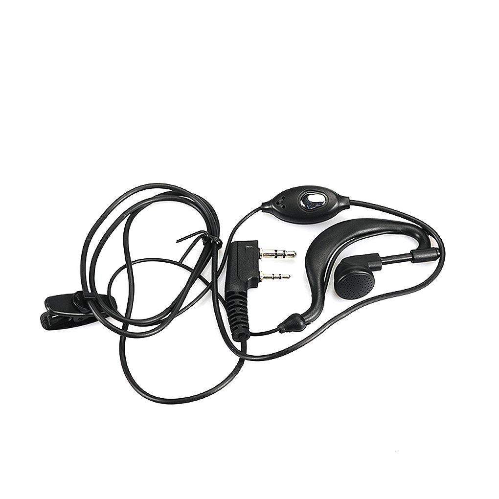 Baofeng Earpiece Earphone Interphones Mic for UV-5R Plus BF-888s 2-way Radio AT