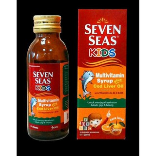 Shopee Kesehatan Suplemen Makanan Kesejahteraan SEVEN SEAS KIDS MULTIVITAMIN ANAK PLUS MINYAK IKAN. suka: