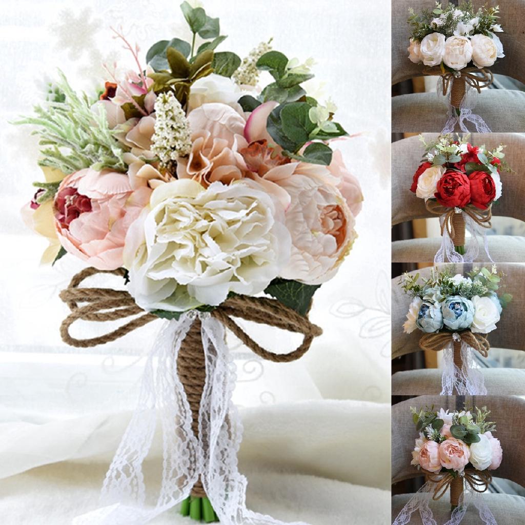 Buket Bunga Simple Untuk Pernikahan Bridesmaid Shopee Indonesia
