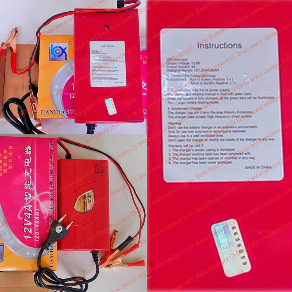 Cas Aki Otomatis Charger Accu Kering Basah Mobil Motor Kit 12v Automatic O Dll Shopee Indonesia