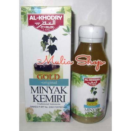 AL-KHODRY Minyak Kemiri Premium Penyubur Penumbuh Bulu Rambut Black Original Al Khodry | Shopee Indonesia