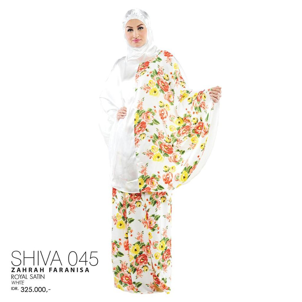 Nova 018 Black Shopee Indonesia Mukena Tatuis Shiva 045 Peach Putih