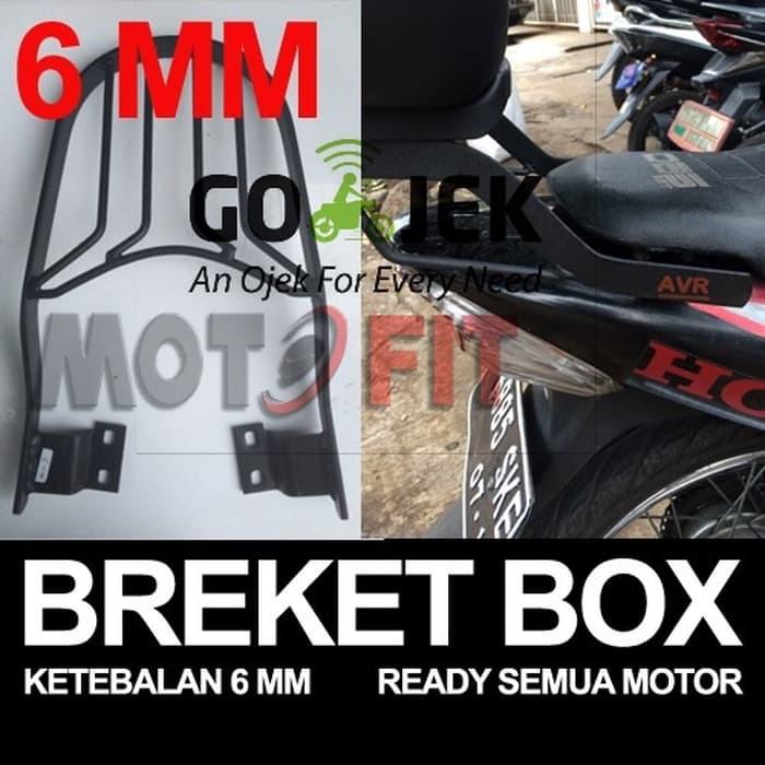 LAGI PROMO Bracket breket box yamaha old vixion dudukan box vixion lama   Shopee Indonesia