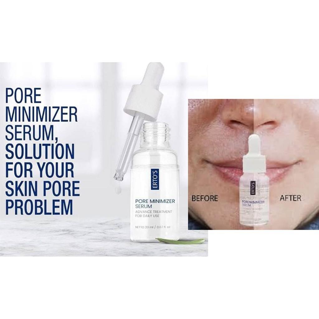 Ertos Pore Minimizer Serum Serum Pengecil Pori Pori Serum