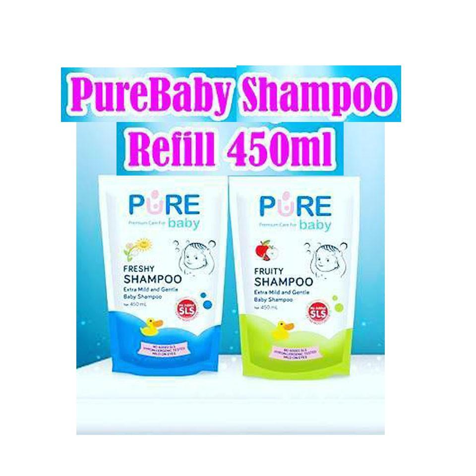 Pure Baby Shampoo 230ml Rajamarket Shopee Indonesia Purebaby Fruity 230 Ml