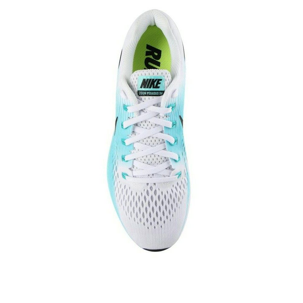 113f7affda9b6 Sepatu Original Nike Air Zoom Pegasus 34 - Black White