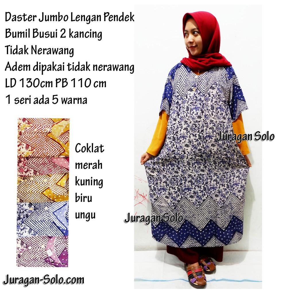 Daster Jumbo Ld 130 Santung Rayon Adem Santai Busui Ibu Hamil Menyusui Bumil Produsen Baju Lebaran Shopee Indonesia