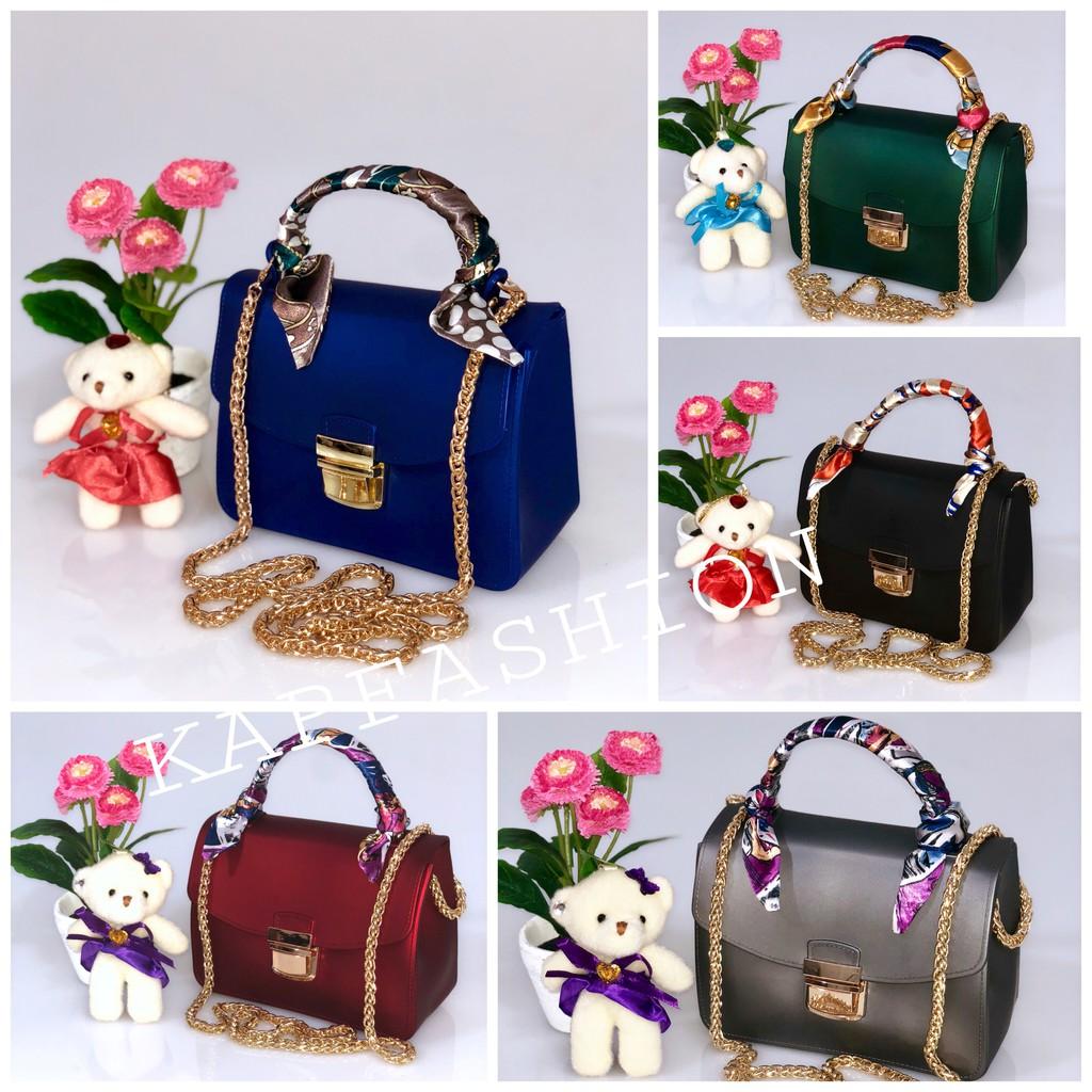 Tas Import Jakarta Jelly Matte Classic Salur V Daimond Uk 22 Cm Doctor Stud 2 Tali Free Boneka Dan Syal Bw8064 Bw8055 Shopee Indonesia