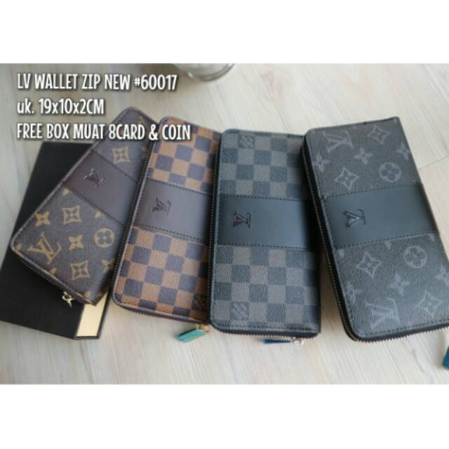 Dompet Gucci Wallet Zip Waterproof 60017  3a0b8b73db