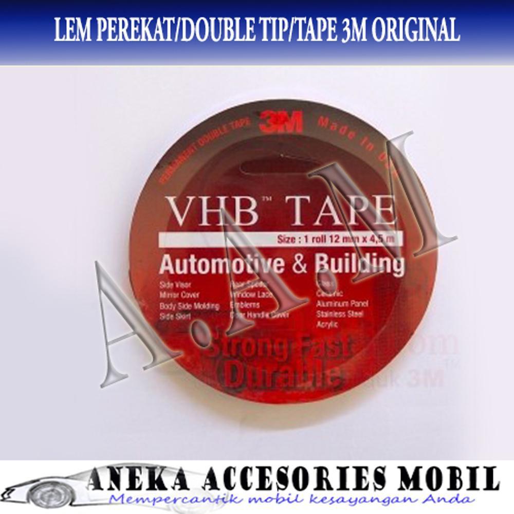 3m Double Tape Merah 20mm Asli Daftar Harga Penjualan Terbaik Vhb Automotive 4900 Tebal 11 Mm Size 12mm X 45m  Mobil Merk Original Source Promo Belanja