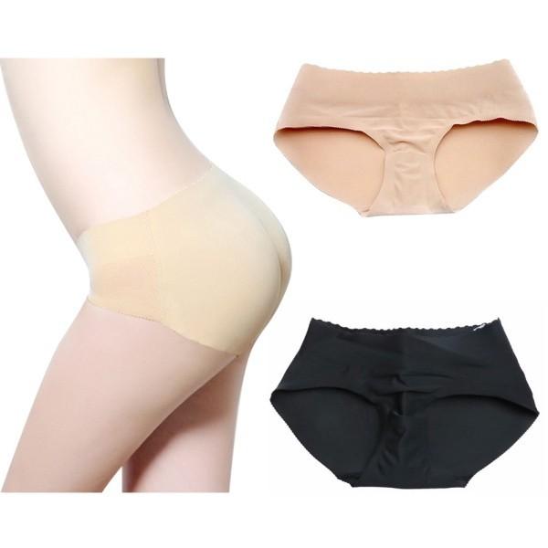 Bayar Di Tempat Celana Dalam Wanita Model Seamless dengan Busa Pembentuk  Bokong  75ff07a3ed