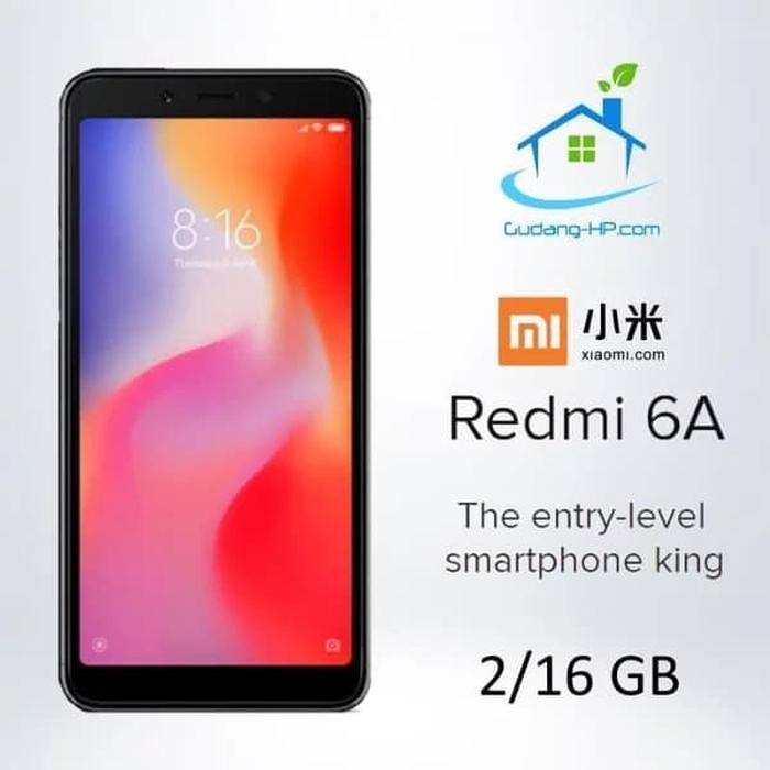 [Second/Bekas] XIAOMI REDMI 6A GARANSI DISTRIBUTOR Handphone/HP
