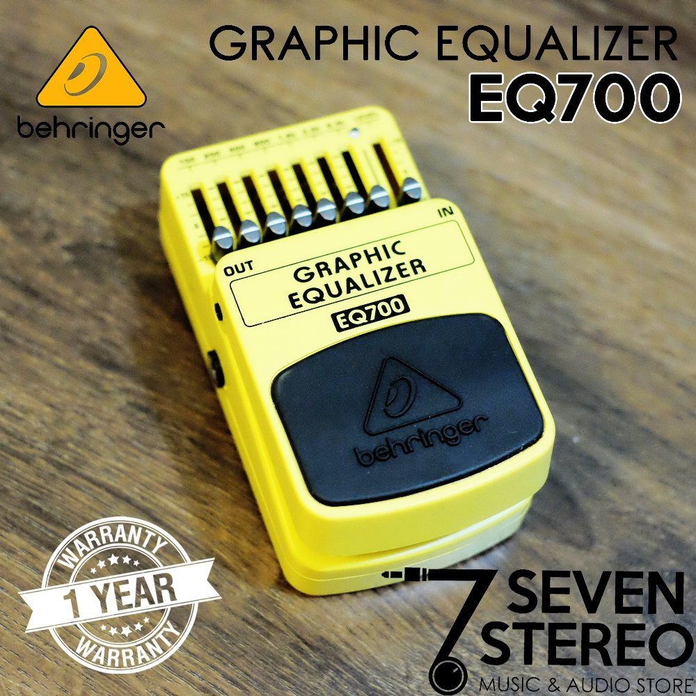 Graphic Equalizer Eq700 // Ultimate 7-Band Graphic Equalizer