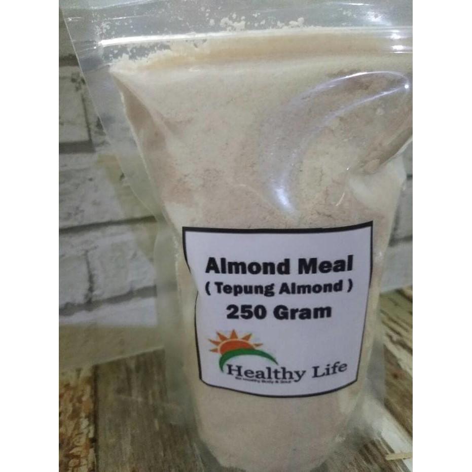 Tepung Almond 250 Gr Keto Diet Menu Ketogenic Food Ketosis Terkini Houseoforganix Unflavoured 500 Shopee Indonesia