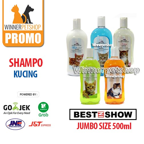 Shampo Kucing - Merk Best In Show - Shampoo Kucing