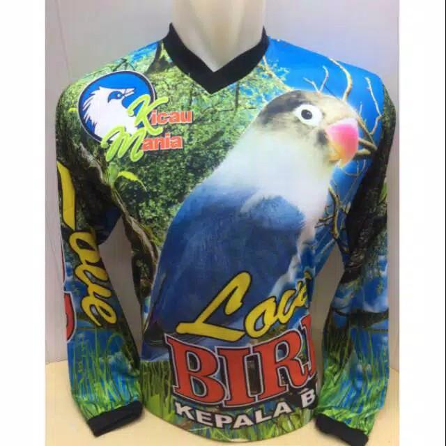 Baju Kaos Jersey Kicau Mania Burung Lovebird Love Bird Shopee Indonesia