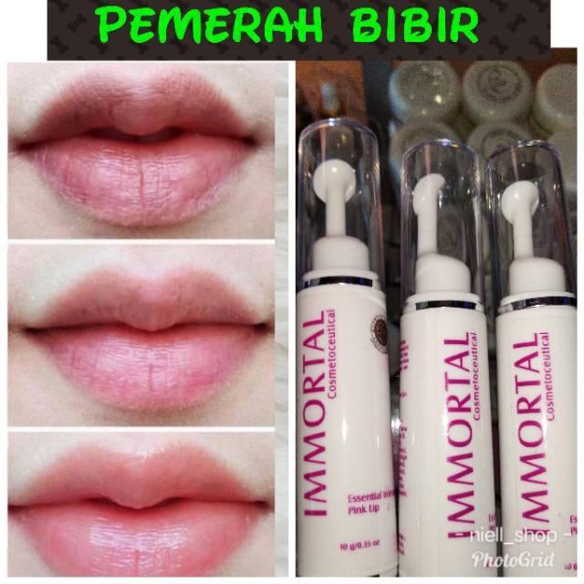 Pemerah Bibir Alami Pria Wanita 100 Original Bpom Pemerah Bibir Hitam Perokok Permanen Paling Ampuh Shopee Indonesia