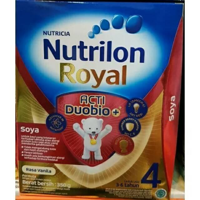 NUTRIBABY Royal Soya 1 Formula Bayi 0 - 6 Bulan Susu Box 350g / 350 g | Shopee Indonesia