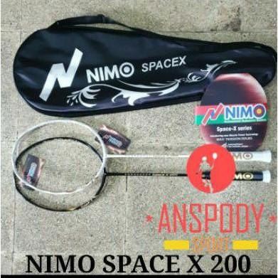 RAKET BADMINTON NIMO SPACE X 200