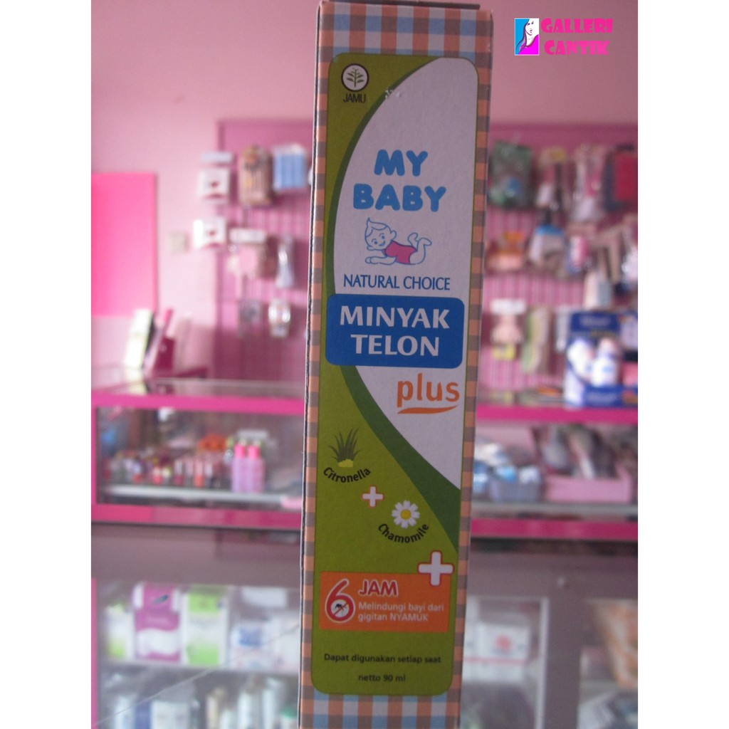 Minyak Telon Plus 6 8 Jam 90ml Shopee Indonesia My Baby 90 Ml