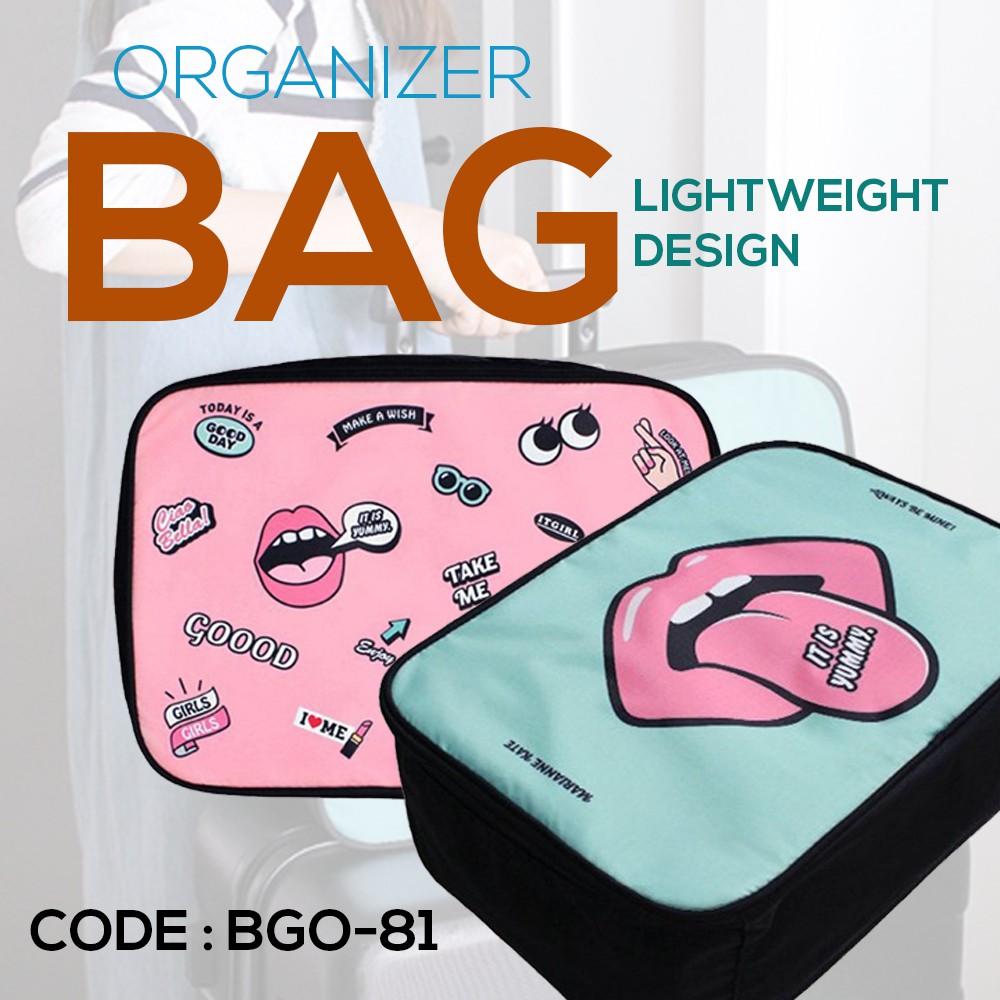83623d96a9 Dual Bag in Bag Organizer - Model Korea - Tas dalam Tas - BGO-03 ...