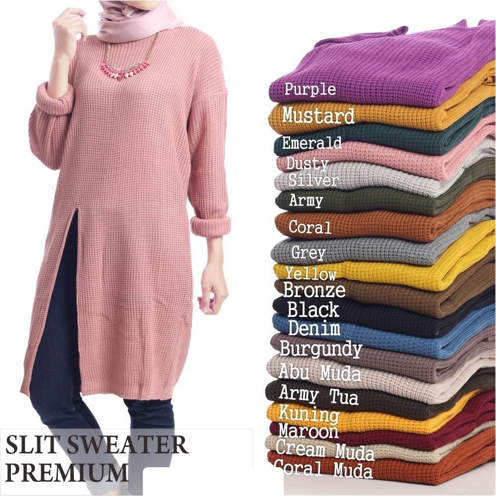Fringe Sweater Rajut Korea Baju Roundhand Secker Sj0015 Rajutr Grosir Shopee Indonesia