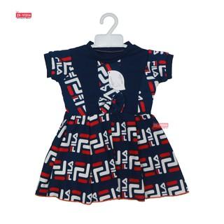 Dress Mikhayla size Bayi 3-18 Bulan / Dres Baby Perempuan Baju Import Murah Gaun