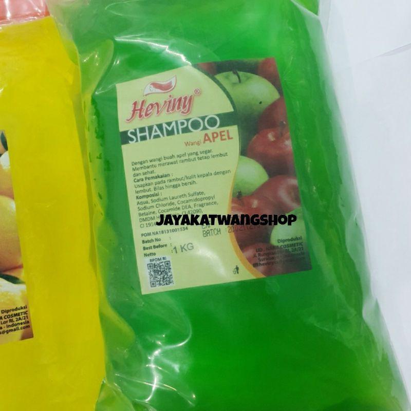 HEVINY Shampoo Refill 1000 ML / 1 KG-Apel