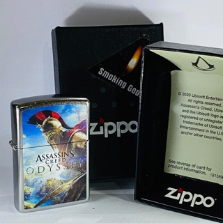 Original Zippo 49083 Assassins Creed Shopee Indonesia