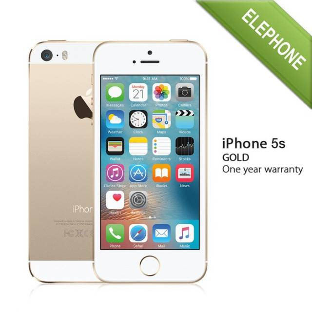 Apple Iphone 5s Gold 16 Gb Garansi Distributor 1 Tahun