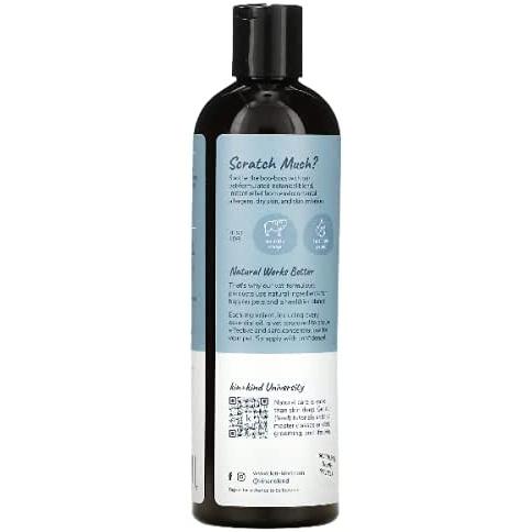 Kin + Kind Itchy Natural Shampoo for Dog - Tea Tree + Grapefruit - Kulit Gatal Anjing-1
