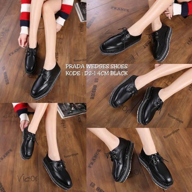 Promo Sale Sepatu Prada Wedges 5000  33f6f5e45a