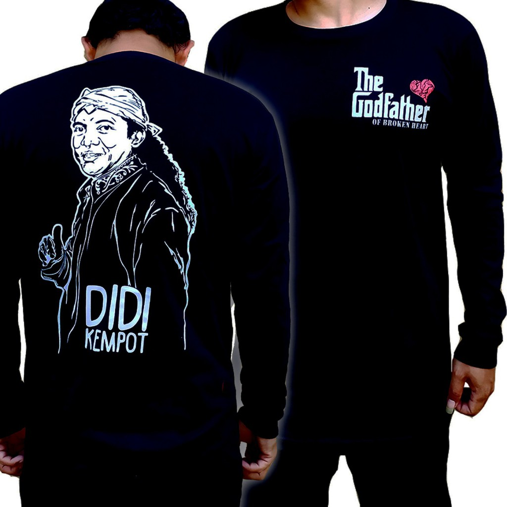 Kaos Didi Kempot Panjang Kaos Sobat Ambyar Kaos The God Of Broken