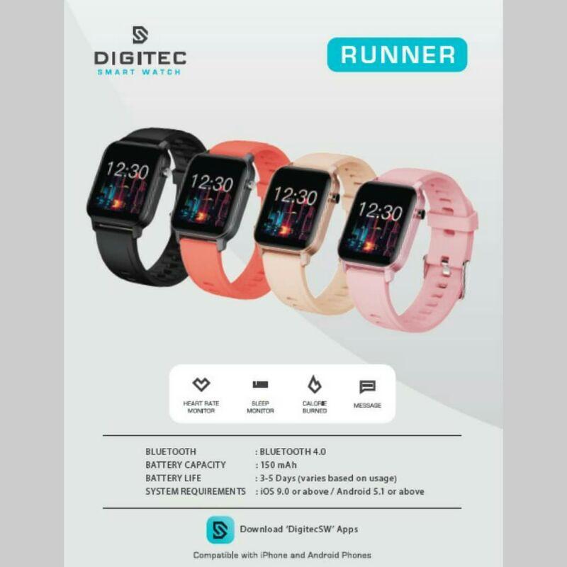 Digitec Smartwatch / Smartwatch Digitec Runner / DG-Runner / DG Runner