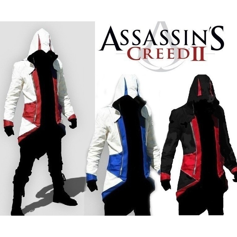 Jaket Hoodie Assassin Creed 3 Iii Assassin Creed Connor Untuk