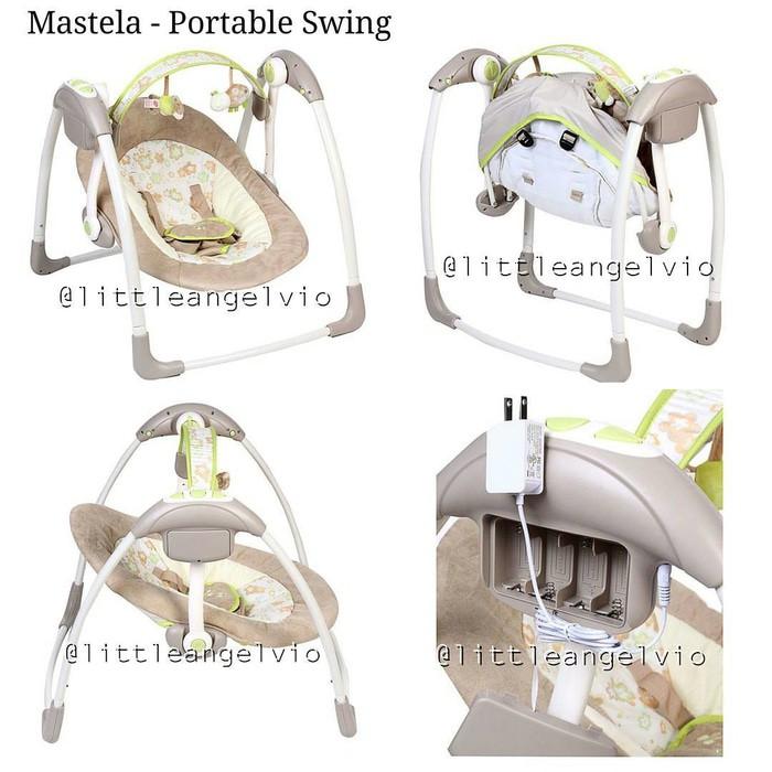 Mastela Swing deluxe portable ayunan bayi .