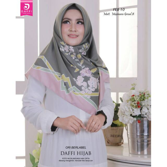 Hijab Daffi Free Bross Shopee Indonesia