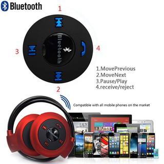 Mini 503 Wireless Bluetooth Mic Headphone Earphone Earphone untuk Samsung iPhone Warna Coklat