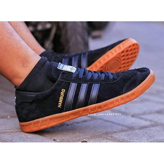 Terlaris Sneakers Bisa Cod Sepatu Adidas Hamburg Spezial Samba