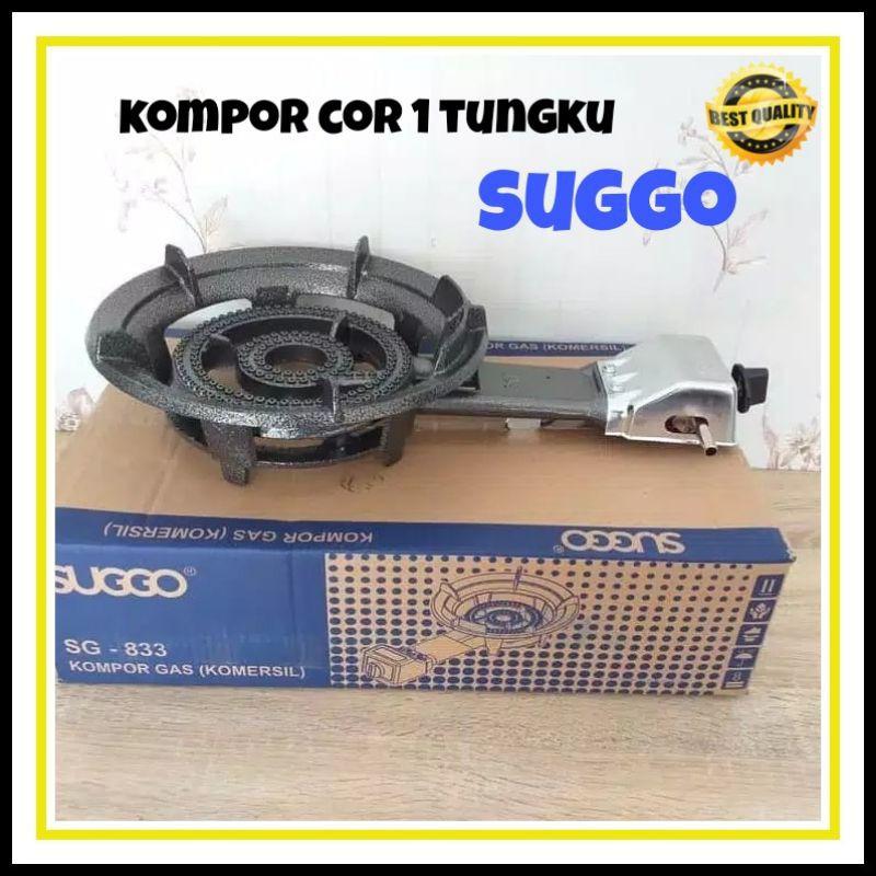 KOMPOR GAS COR SUGGO 1 TUNGKU LOW PRESSURE  SERIBU 1000 MATA SUGO SG- 833 (31A) KOMPOR KOMERSIL DNS