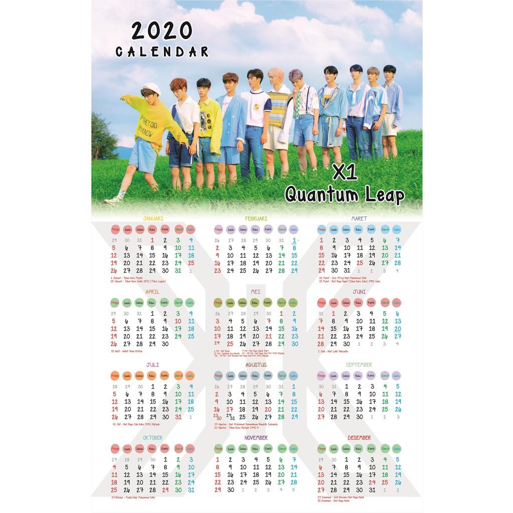 Kalender Indonesia 2020: Gambar Kalender 2020 Animasi