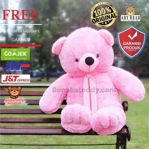 Original Boneka Teddy Bear Premium Limited Edition Spesial Untuk Kado  Wisuda   Cewek   Pacar  3203a5429c