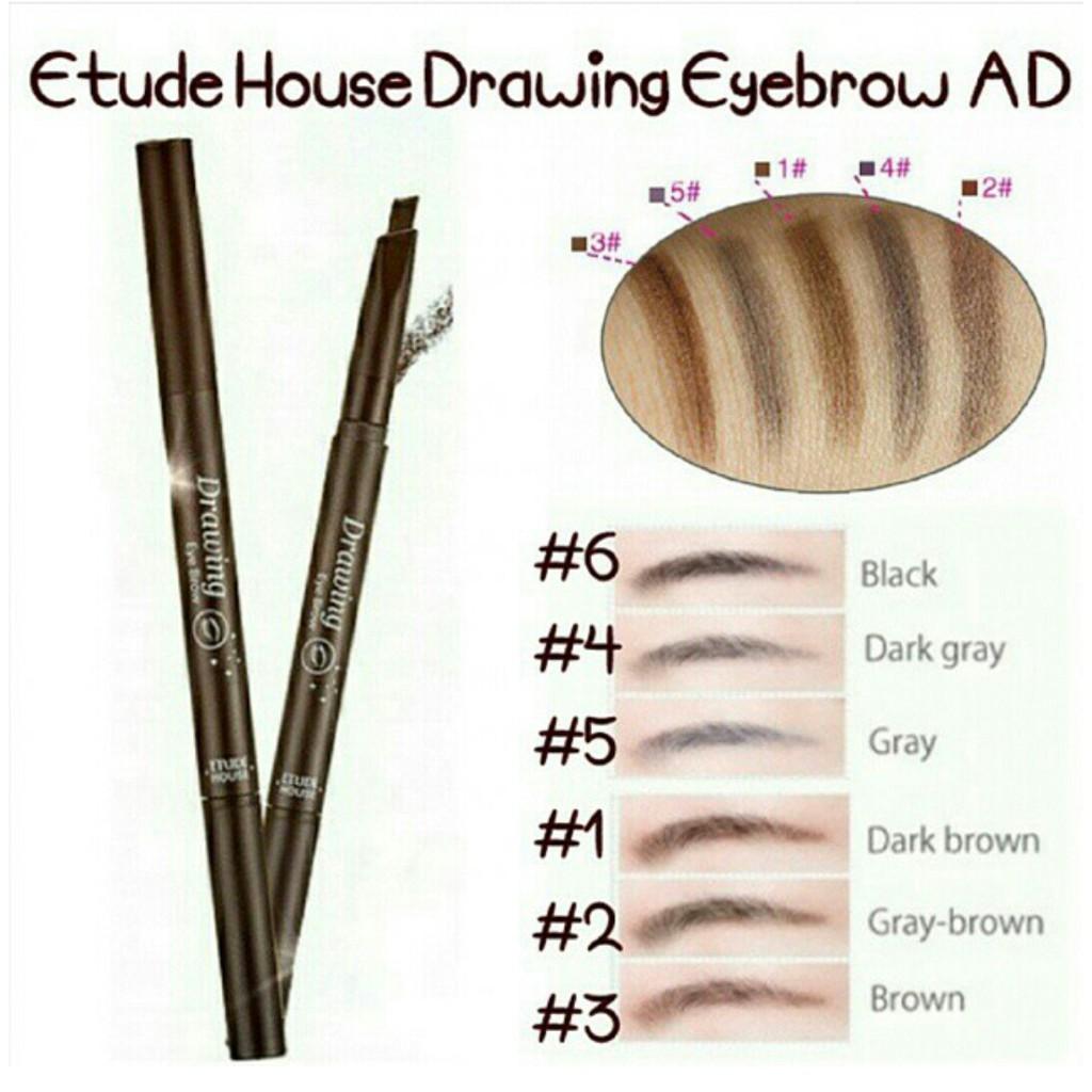 Etude House Drawing Eyebrow 03 Brown Daftar Harga Terlengkap New Eye Brow