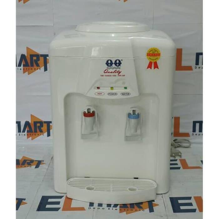 New Qq Dispenser 1168 White Dispenser Air Panas Dan Normal Murah Shopee Indonesia