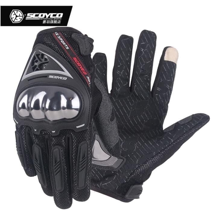 Sarung tangan scoyco MC29D half hitam   glove scoyco MC29D half black   sarung  tangan scoyco motor  5d53a47b74