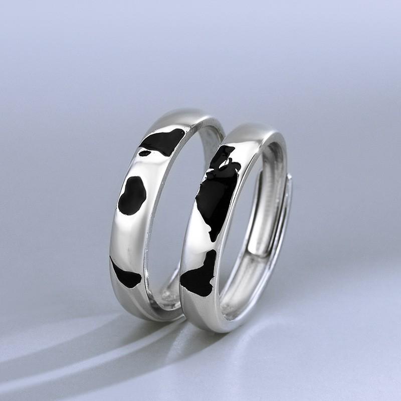 925 Silver Hemisphere ring