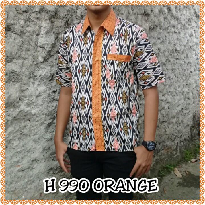 Kemeja Batik Lengan Panjang 013  Batik Modern  Baju Pria Baju Kantor  Baju  Resmi Seragam Batik Murah  cf0fffd720