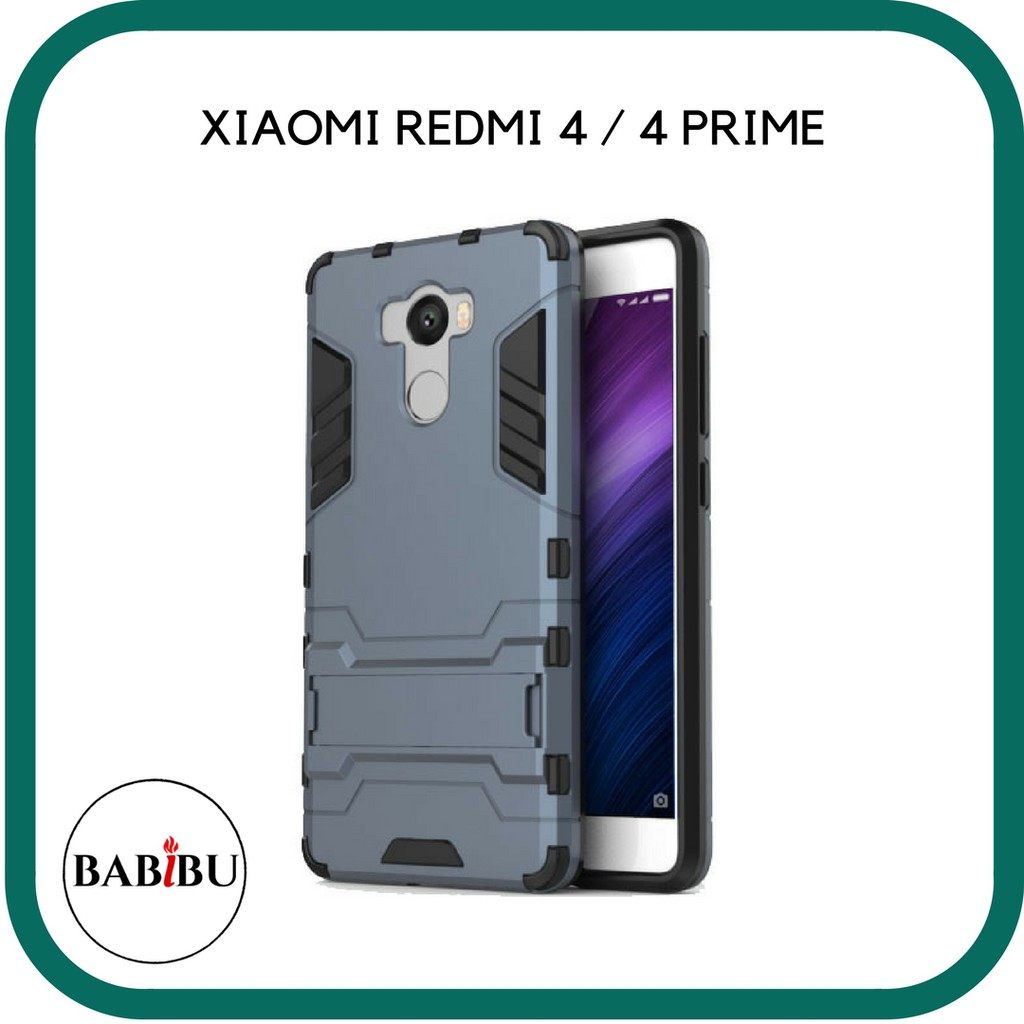 wholesale dealer f2e86 a5cfe ProCase Ironman Kickstand Transformer Back Case For Xiaomi Redmi 4 / Redmi  4 Prime