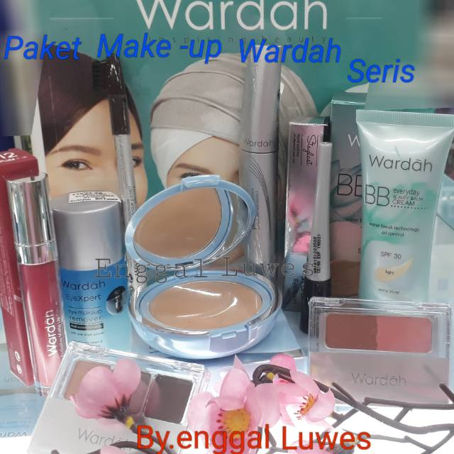Paket Make Up Wardah Original Terbarufb